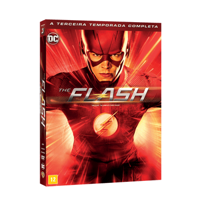 DVD The Flash - 3ª Temporada - 6 Discos