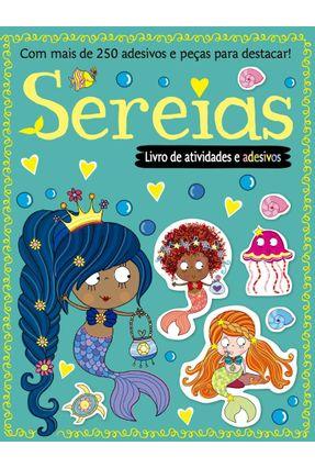 Livro de Atividades e Adesivos - Sereias - Editora Ciranda Cultural | Hoshan.org