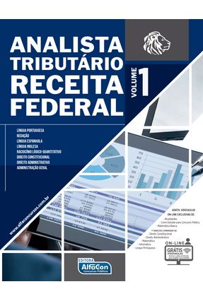 Analista Tributário Receita Federal - Vol. 1 - Alfacon pdf epub