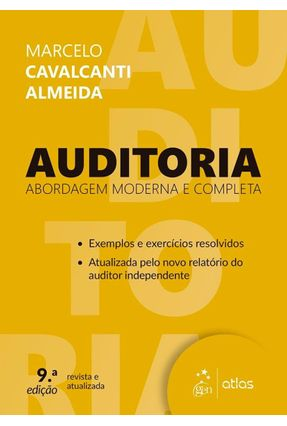 Auditoria - Abordagem Moderna e Completa - 9ª Ed. 2017 - Almeida,Marcelo Cavalcanti   Hoshan.org