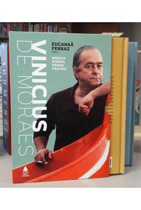 Box - Vinicius De Moraes - Música, Poesia, Prosa, Teatro - 2 Volumes - Moraes,Vinicius de | Hoshan.org