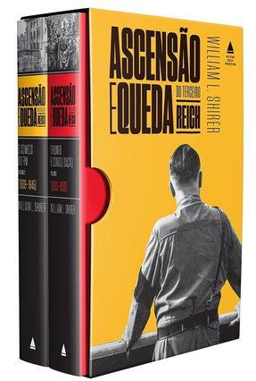 Box - Ascensão e Queda do Terceiro Reich - 2 Volumes - Shirer,William L. | Hoshan.org