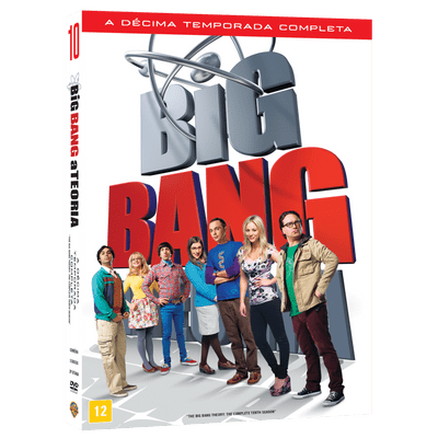 DVD -  Big Bang A Teoria - 10ª Temporada - 3 Discos