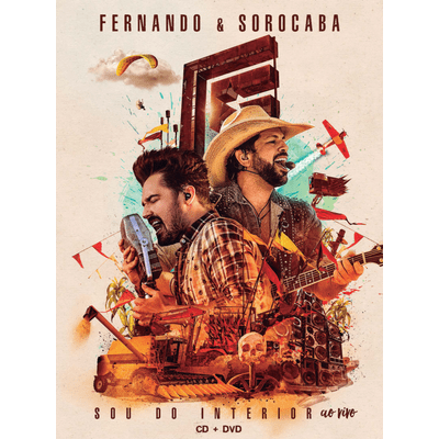 Fernando & Sorocaba - Sou do Interior ao Vivo - DVD + CD - Digipack