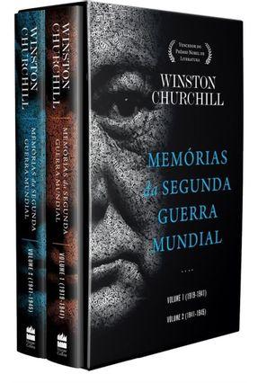Box - Memórias Da Segunda Guerra Mundial - 2 Volumes - Winston Churchill | Tagrny.org