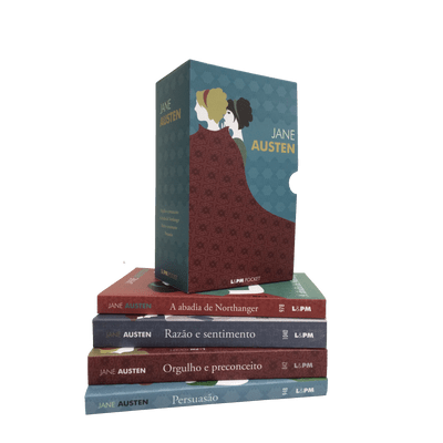 Box - Jane Austen - 4 Volumes - Pocket