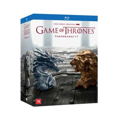 Blu-Ray Game Of Thrones - Temporadas Completas 1-7 - 35 Discos