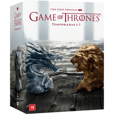DVD Game Of Thrones - Temporadas Completas 1-7 - 35 Discos