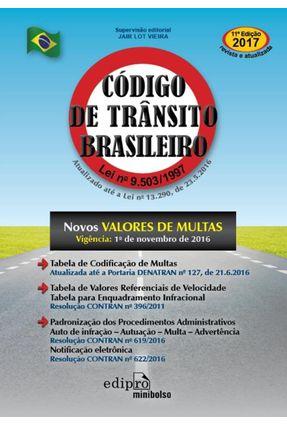 Código De Trânsito Brasileiro - Edição De Bolso - 11ª Ed. 2017 - Vieira,Jair Lot pdf epub