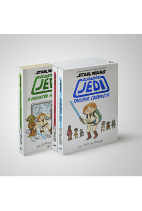 Box - Trilogia Academia Jedi - 3 Volumes - Brown,Jeffrey | Hoshan.org