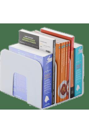 Organizador De Livros Standard Waleu Branco
