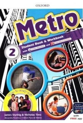 Metro - Level 2 - Student's Book - Workbook Pk - James Styring Nick Tims pdf epub