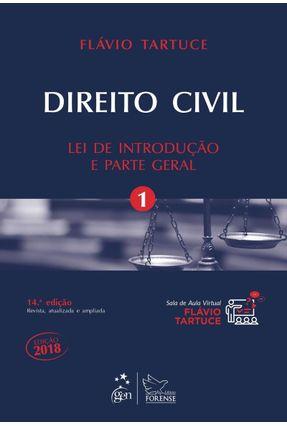 Direito Civil - Lei De Introdução E Parte Geral - Vol. 1 - Tartuce,Flávio   Tagrny.org
