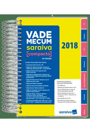 Vade Mecum Saraiva Compacto - Espiral - 19ª Ed. 2018 - Editora Saraiva | Hoshan.org