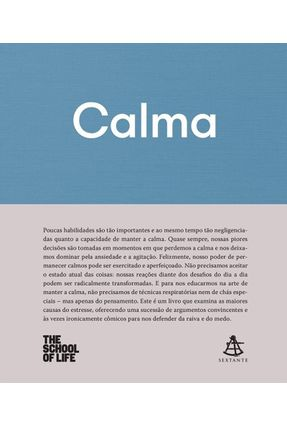 Calma - The School Of Life pdf epub