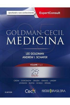 Goldman-Cecil Medicina - Vol. 1 E 2 - 25ª Ed. 2018 - Goldman,Lee pdf epub