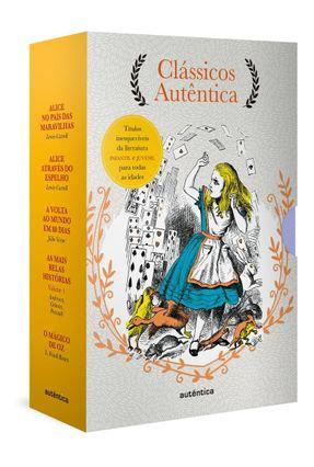 Caixa Clássicos Autêntica - Vol. 3 - Carroll,Lewis Verne,Jules Baum,L. Frank pdf epub