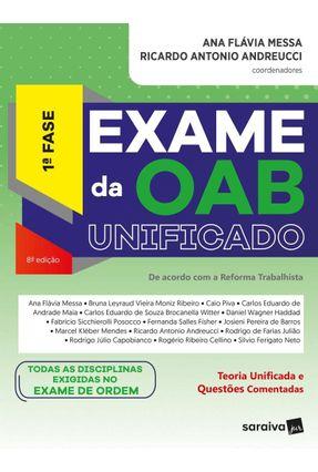 Exame Da OAB Unificado - 1ª F - Messa,Ana Flávia Andreucci,Ricardo Antonio | Tagrny.org