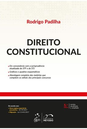 Direito Constitucional - 5ª Ed. 2018 - Padilha,Rodrigo   Hoshan.org
