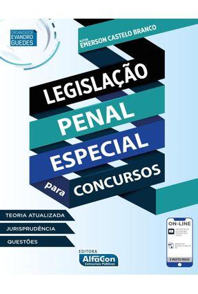 Legislação Penal Especial Para Concursos - Branco,Emerson Castelo pdf epub