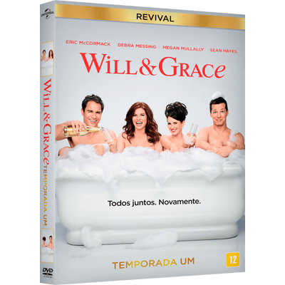 Will & Grace Revival 1ª Temporada - 2 Discos