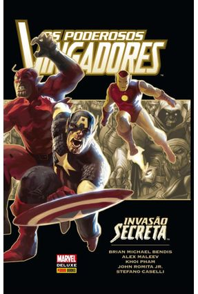 Os Poderosos Vingadores: Invasão Secreta - Bendis,Brian Michael Maleev,Alex Pham,Khoi   Tagrny.org