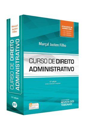 Curso De Direito Administrativo - 13ª Ed. 2018 - Marçal Justen Filho pdf epub