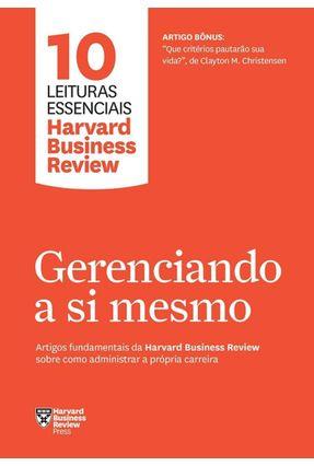 Gerenciando A Si Mesmo - Harvard Business Review pdf epub