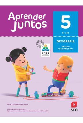 Aprender Juntos - Geografia - 5º Ano - Ed. 2018 - Leda Leonardo da Silva   Hoshan.org