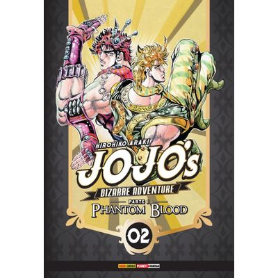 Jojo's Bizarre Adventure - Parte 1 - Phantom Blood Vol. 2