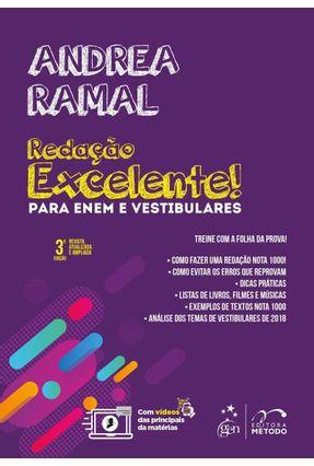 Redação Excelente! Para Enem e Vestibulares - Ramal,Andrea | Hoshan.org