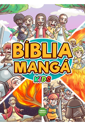 Bíblia Mangá - Kids - Monteiro,Kleverton   Tagrny.org