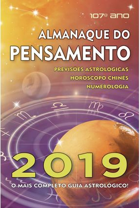 Almanaque do Pensamento 2019 - Pensamento,Editora | Hoshan.org