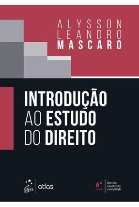 Introdução Ao Estudo do Direito - Mascaro,Alysson Leandro pdf epub