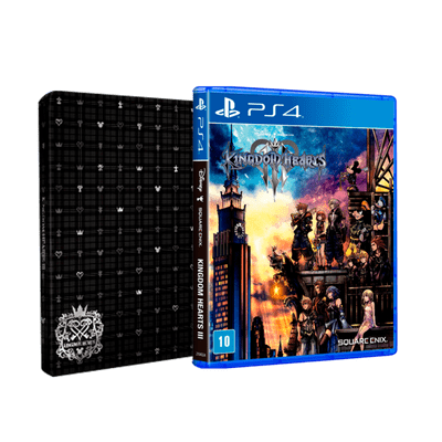 Kingdom Hearts 3 + Steelbook - PS4