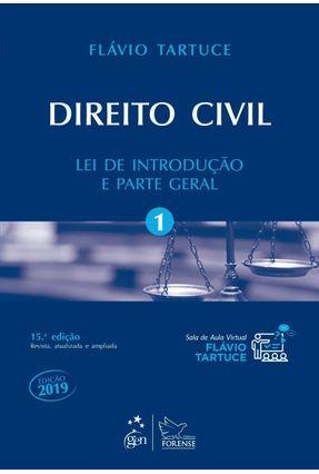 Direito Civil - Lei De Introdução e Parte Geral - Vol. 1 - 15ª Ed.2018 - Tartuce,Flávio   Hoshan.org