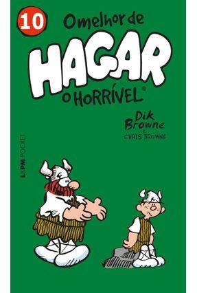 O Melhor De Hagar O Horrível - Vol. 10 - Browne,Dik Browne,Chris   Hoshan.org
