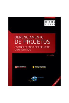Gerenciamento De Projetos - 9ª Ed. 2018 - Vargas,Ricardo Viana pdf epub