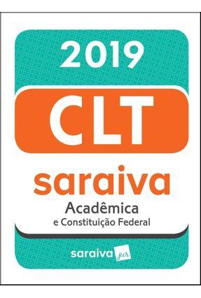 Minicódigo - CLT Acadêmica - 19ª Ed. 2019 - Editora Saraiva pdf epub