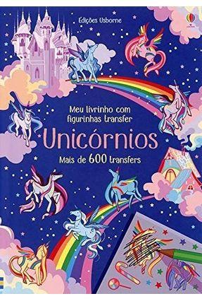 Unicórnios: Meu Livrinho Com Figurinhas Transfer - Editora Nobel | Nisrs.org