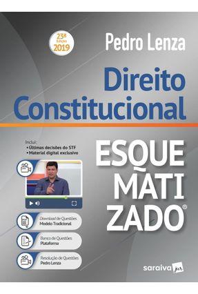 Direito Constitucional Esquematizado® - 23ª Ed. 2019 - Lenza,Pedro   Hoshan.org