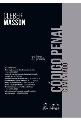 Código Penal Comentado - 7ª Ed. 2019 - Masson,Cleber   Hoshan.org