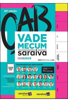 Vade Mecum OAB - 18ª Ed. 2019 - Editora Saraiva pdf epub