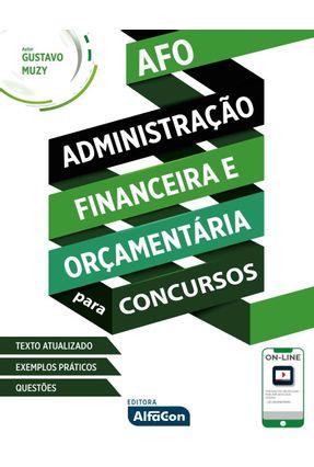 Administração Financeira e Orçamentária Para Concursos - Gustavo Muzy pdf epub