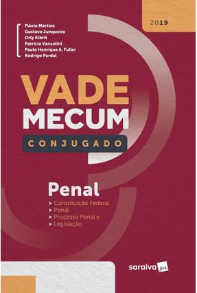 Vade Mecum Conjugado Penal - Col. Vade Mecum Conjugado - 1ª Ed. 2019 - Junqueira,Gustavo Martins,Flávio Kibrit,Orly | Hoshan.org