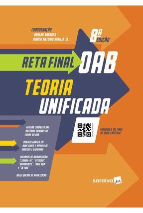 Reta Final OAB - Teoria Unificada - 8ª Ed. 2019 - Barroso,Darlan Araujo Junior,Marco Antonio | Hoshan.org