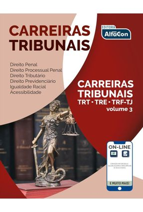 Carreiras Tribunais - Volume III - 2ª Ed. 2019 - Wilza Castro | Hoshan.org