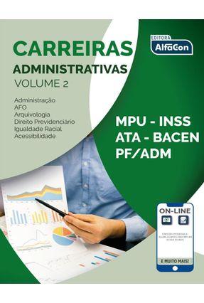 Carreiras Adminitrativas - Volume 2 - Wilza Castro pdf epub