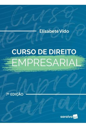 Curso De Direito Empresarial - 7ª Ed. 2019 - Vido,Elisabete pdf epub