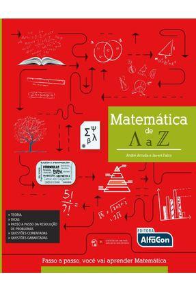 Matemática De A A Z - Falco,André Arruda E Javert De   Hoshan.org
